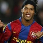 Brazil star footballer Ronaldinho