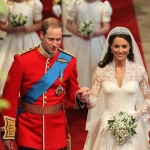 British Prince William and Kate Middleton celebrated their fifth wedding anniversary