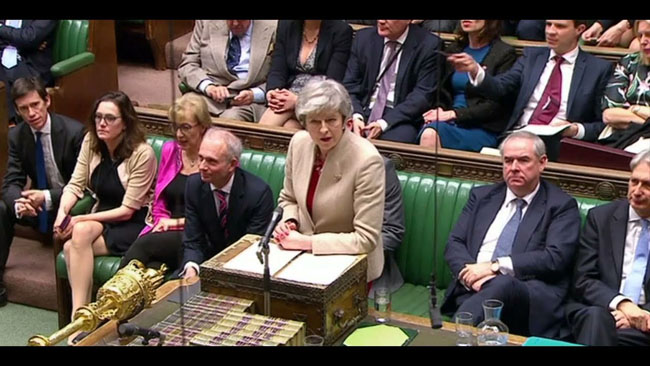 In the British parliament, 286 votes were given to the brexit deal in 286 while opposing 344 votes