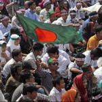 Bangladesh Islami, Islami Chhatra Shabbar workers took to the streets