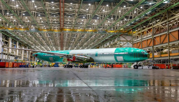According to the Boing Company, there will be a capacity of 350 to 425 passengers in the 777 X plane
