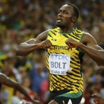 World athletes: Bolt won the gold medal in the 200 meter race
