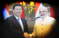 Indian Prime Minister Narendra Modi and China President Xi Jinping