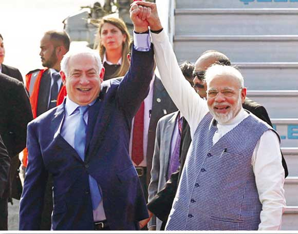 India's growing proximity to Israel