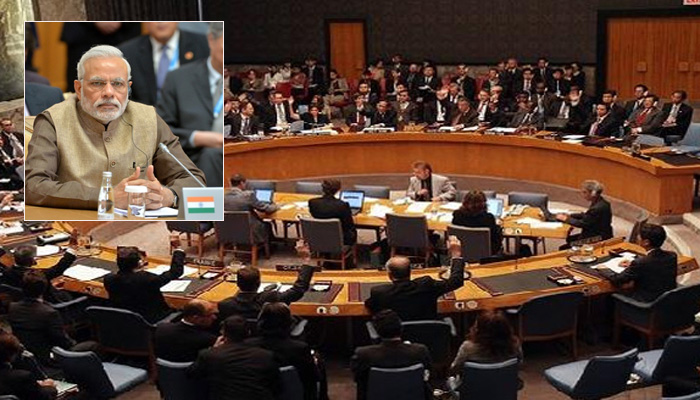 India could not get a permanent seat in the Security Council