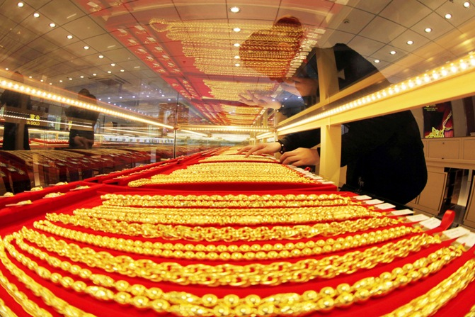 In India, 975 tonnes in 2013 to buy and sell gold
