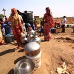 Several villages were suffering from water shortages India
