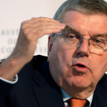 Thomas Bach, head of the International Olympic Committee IOC