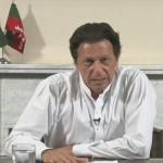 Tehreek-e-Insaf Chairman Imran Khan addresses the nation before becoming prime minister