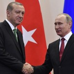 Putin has landed in Turkey to meet Erdogan