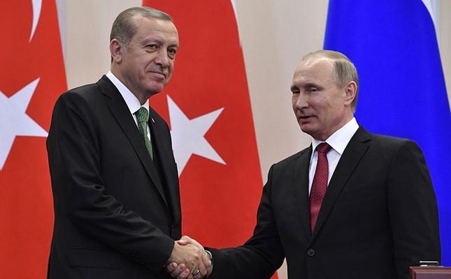 Putin has landed in Turkey to meet Erdogan
