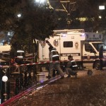 Turkey in Istanbul, a police station, a female suicide bomber blew himself up at