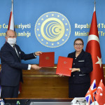 The agreement was signed by Turkish Trade Minister Rushar Pekcan and British Ambassador to Turkey Dominick Chilcott.