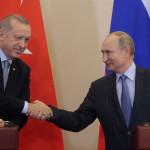 Turkish President Recep Tayyip Erdogan meets Russian counterpart Vladimir Putin in Sochi