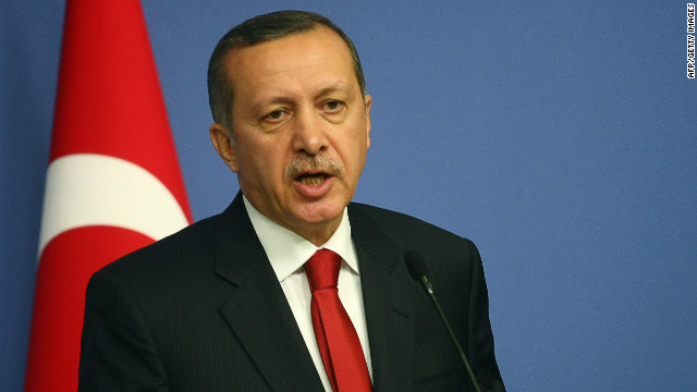 Turkish Prime Minister  Tayyab Erdogan