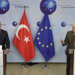 Turkish Foreign Minister Mevlüt Çavuşoğlu and EU foreign policy Chief Josep Borrell