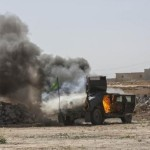 US airstrike in Tikrit on Islamic State