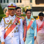Thailand's King has dismissed six palace officials
