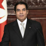 The deposed President of Tunisia Zine El-Abidine Ben Ali
