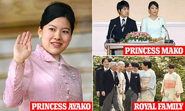 Japanese princess Ayoko announced marriage to the ordinary citizen