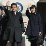 Japanese Prime Minister Shinzo Abe left on Tokyo's Haneda airport on Friday morning for his 6-day visit