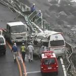 24 injured as Typhoon Jongdari traverses west Japan