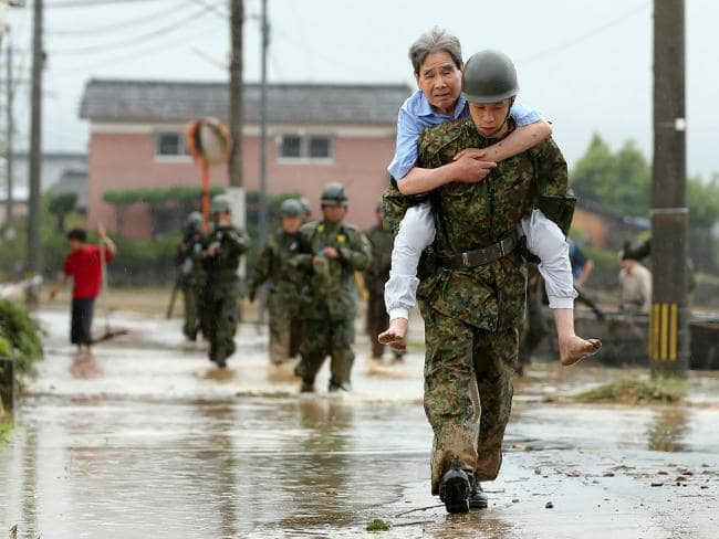 The number of deaths toll reaches 175 from heavy rain in Japan