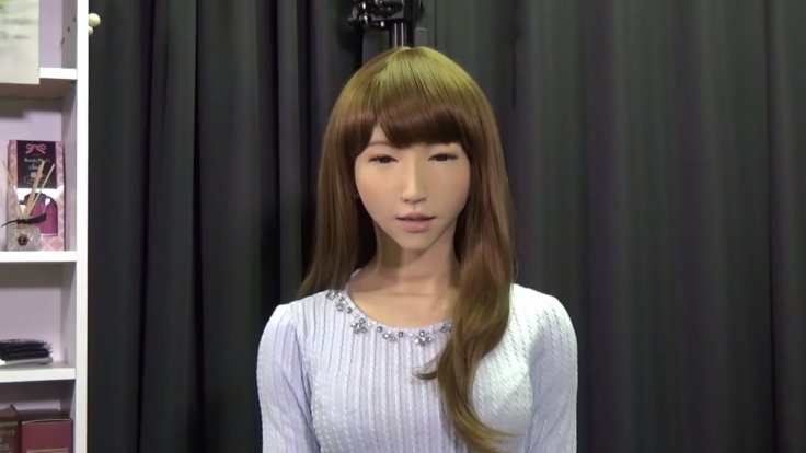 Japan's elegant woman Robot Erica