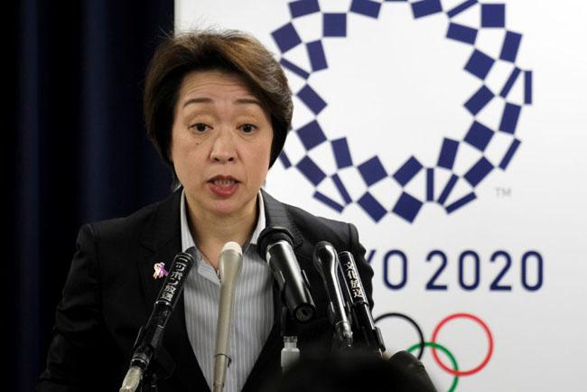Japan's Olympic Minister Seiko Hashimoto