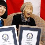Japan's 116-year-old woman Kane Tanaka