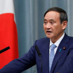 Japan's Chief Cabinet Secretary Yoshihide Soga
