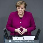 German Chancellor's Parliamentary Address