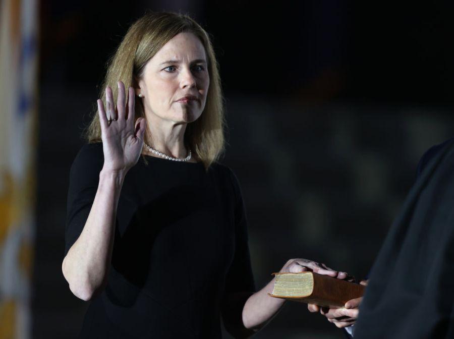 Justice Amy Cone Barrett appointed new Supreme Court judge