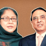 The allegations of fake accounts and money laundering were not only accused Zardari but also his sister Faryal Talpur.