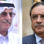 Former president Asif Zardari involved in fake accounts and owner of a private bank in Pakistan Nasser Abdulla Hussain Lootah