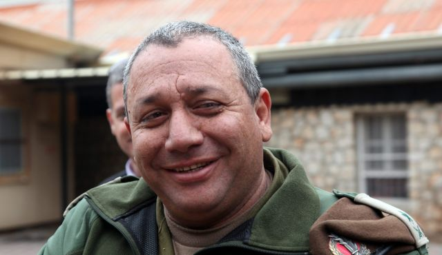 Israel named a new army chief Gen. Gadi Eisenkot