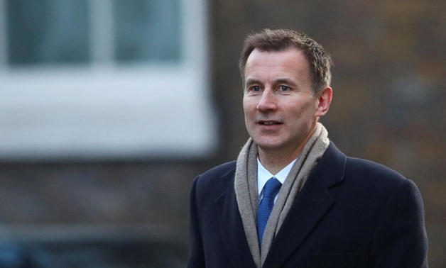 Jeremy Hunt appointed the UK foreign minister