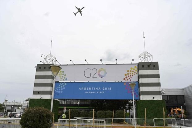 The G20 summit is taking place in Buenos Aires on Thursday