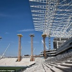 Brazilian stadium disaster victims