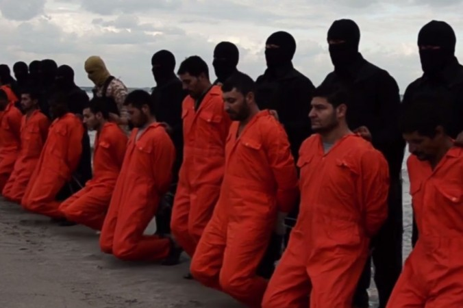 21 coptic christians were killed in isis released video of egypt