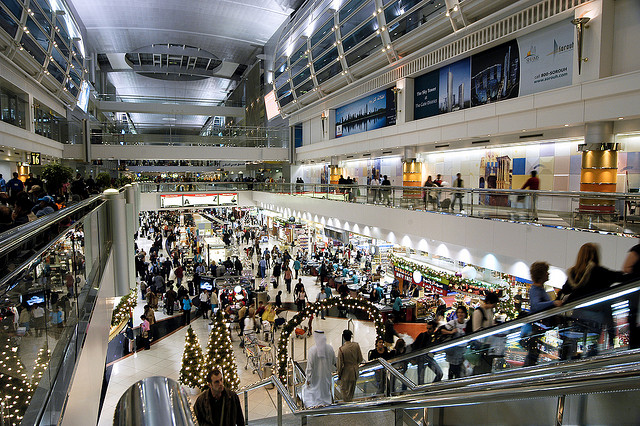 Dubai International Airport in honor of the world's busiest acquired