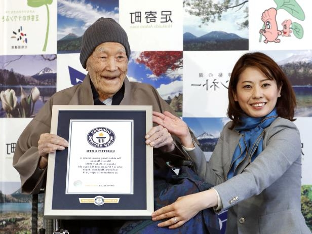 The world's most respected person Masazo Nonaka is also from Japan, which is 113 years old