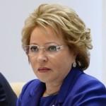 Chairman of Russian Federation Council Valentina Matviyenko