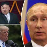 Russian President Vladimir Putin gave a severe threat to the most two powerful countries of the Heads
