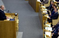 Russian parliament approves suspension of plutonium agreement with U.S.