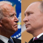 Russian President Putin and US President Joe Biden, file photo