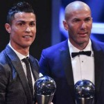 Cristiano Ronaldo won the best footballer; Zinedine Zidane wins the best football