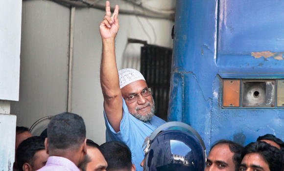 Bangladesh JI leader Mir Quasem Ali