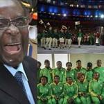 Zimbabwe President Robert Mugabe's Olympic team