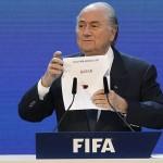 Former Fifa president Sepp Blatte